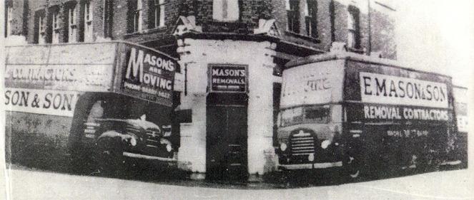 History of Masons Removals Cardiff