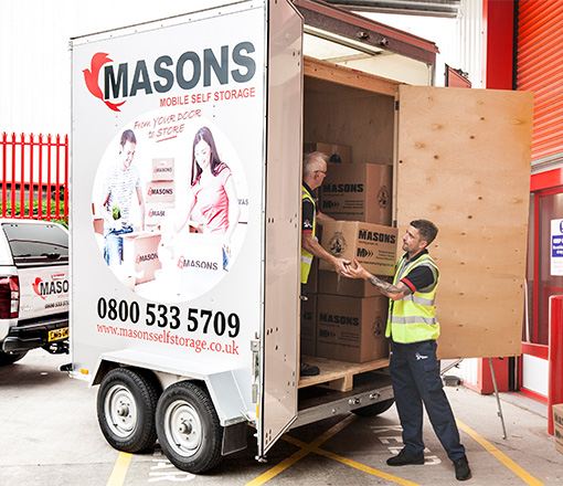 Masons Removals Cardiff Mobile Move and Store