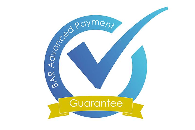 BAR advanced payment guaranteee