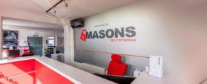 Masons Self Storage offer flexible storage near Cardiff